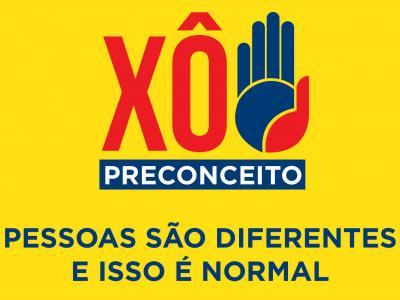 Imagem mostra logomarca da campanha