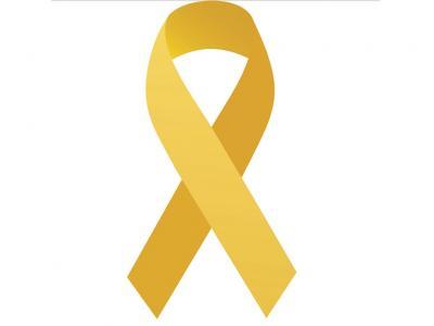 Imagem mostra logo do Maio Amarelo