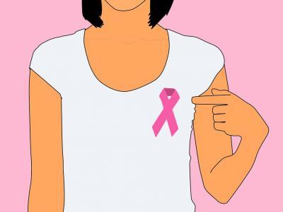 Símbolo da luta ao câncer