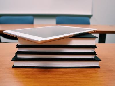 Livros e iPad