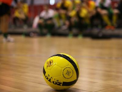 Imagem mostra bola de futsal