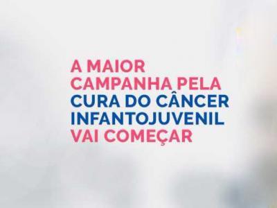 Imagem mostra texto da campanha