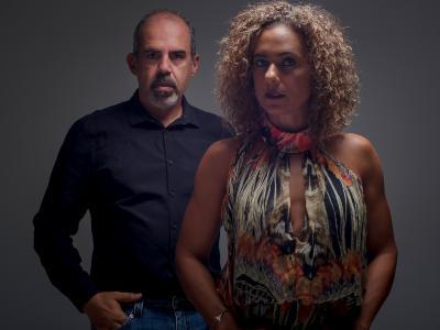 Fotógrafos Chico e Gal Brandão