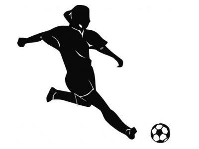 Imagem mostra uma jogadora de futsal