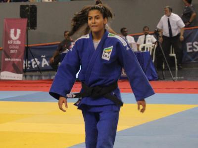 Imagem mostra atleta de judô