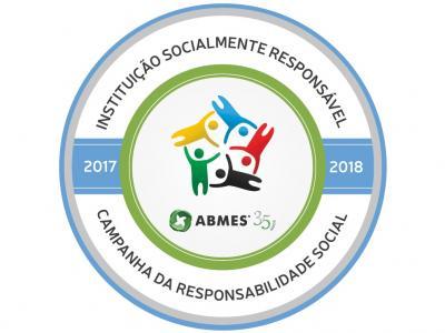 Imagem mostra o selo da Campanha da Responsabilidade Social