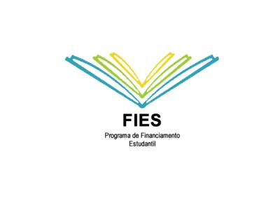 A imagem mostra a logo do FIES