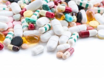 Imagem mostra medicamentos