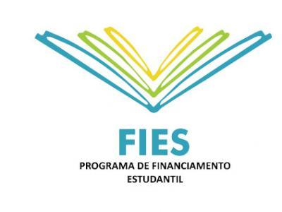 A imagem mostra o símbolo do FIES