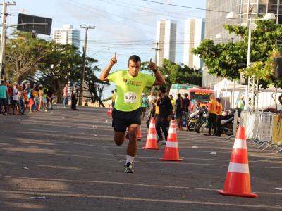 Imagem mostra pessoa correndo