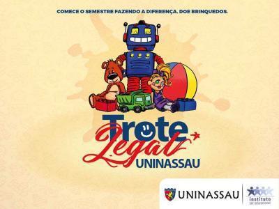 As doações podem ser realizadas na sede da Faculdade UNINASSAU