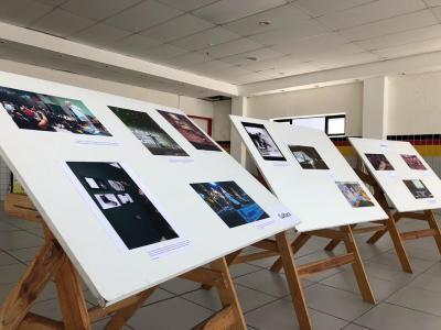 Imagem mostra fotos dos alunos