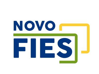 Imagem mostra logo do FIES