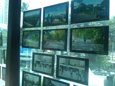 Imagem mostra trabalhos do alunos