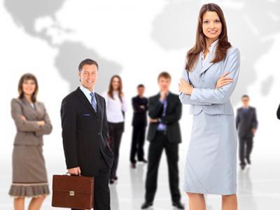 A imagem mostra vários profissionais de diversas áreas