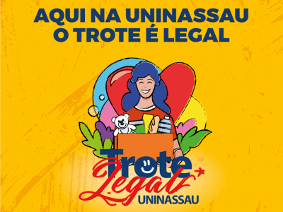 A imagem mostra o banner do Trote Legal