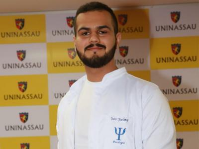 João Joelmy, estudante de Psicologia