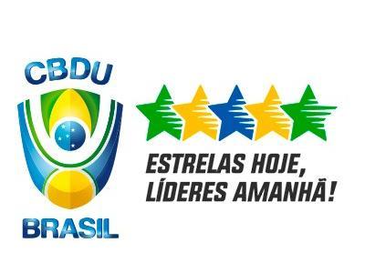 Imagem mostra logo da CBDU
