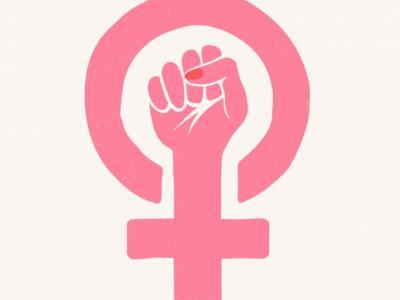 Imagem mostra composição feminista