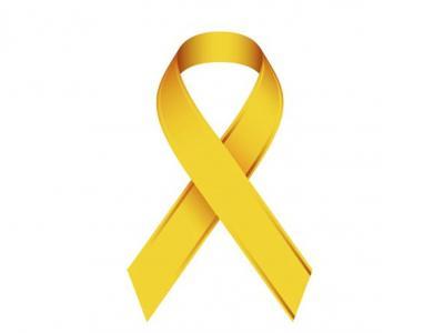 Imagem mostra símbolo da campanha Maio Amarelo