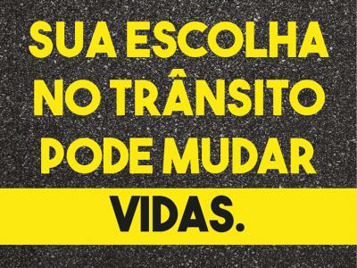 Imagem mostra banner da ação
