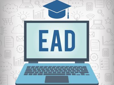 Arte com a palavra EAD