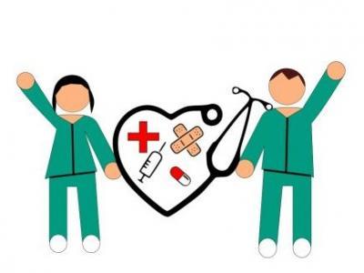 Desenho de enfermeiros