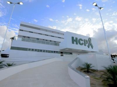 Imagem mostra fachada do Hospital do Câncer
