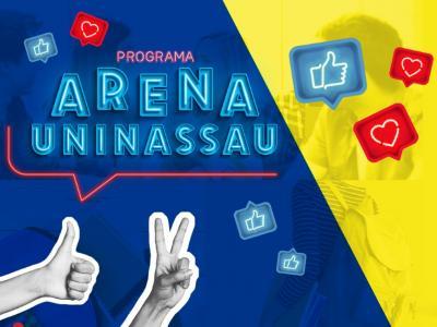 Imagem mostra arte do programa