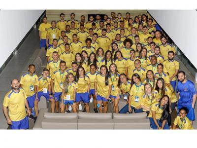 Imagem mostra delegação da UNINASSAU Recife