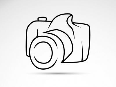 Imagem mostra desenho de câmera fotográfica