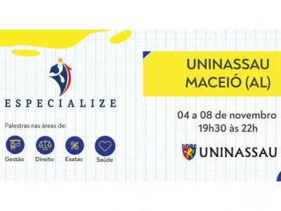 UNINASSAU Maceió realiza Projeto Especialize