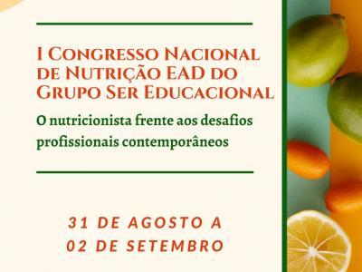 Ser Educacional promove I Congresso Nacional de Nutrição EAD