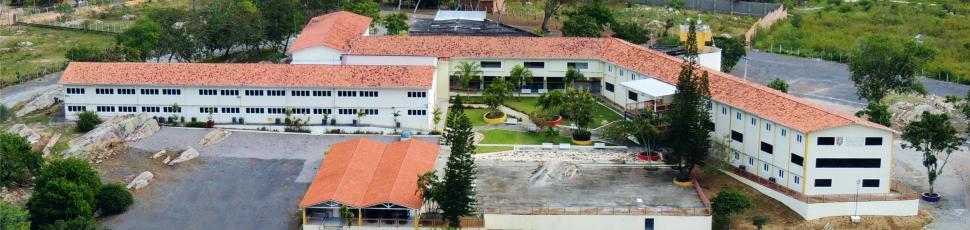 Visão aérea da Unidade Maurício de Nassau em Caruaru | Foto: Jairo Renan/Cortesia