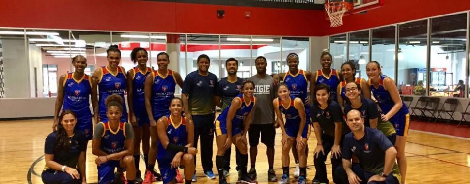 Time de basquete da UNINASSAU fez uma ótima campanha no ano de 2016