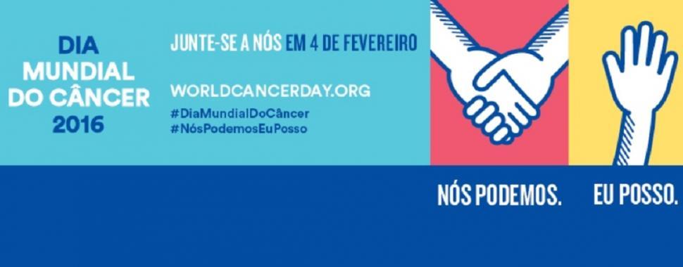O INCA - Instituto Nacional do Câncer, alerta para o Dia Mundial contra o câncer celebrado em 4 de fevereiro