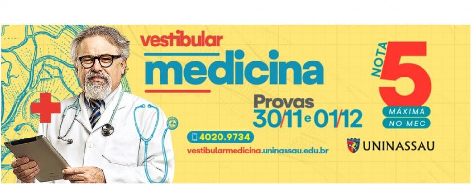 Imagem mostra campanha do Vestibular