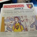imagem mostra jornal laboratório da uninassau