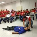 Estudantes de Enfermagem realizam treinamento de primeiros socorros