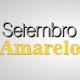 imagem  mostra  o nome da campanha setembro amarelo