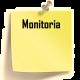 imagem mostra a palavra monitoria