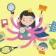 Imagem mostra arte de mãe com vários braços ocupados ao mesmo tempo, remetendo o acúmulo de tarefas