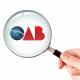 Imagem mostra logomarca da OAB