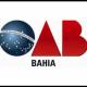 Imagem mostra logo da OAB