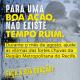 Imagem mostra arte da campanha