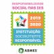 Imagem mostra selo concedido pela ABMES